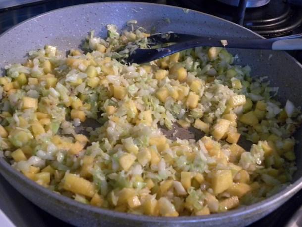 λάχανο με κολοκύθα εικόνα