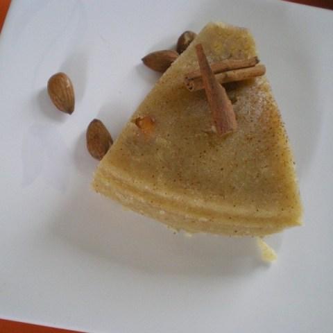 Χαλβάς Κατσαρόλας με Φρούτα και Αμύγδαλα