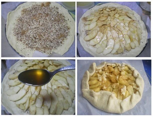 ετοιμασία Γκαλέτ μήλων με μαρέγκα εικόνα