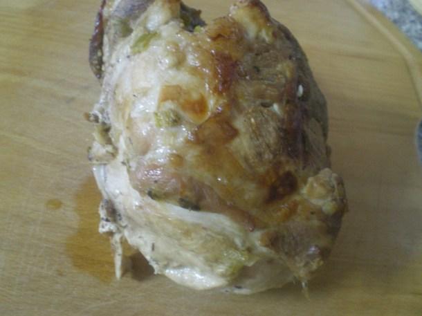 Χοιρινό κρέας ψημένο εικόνα