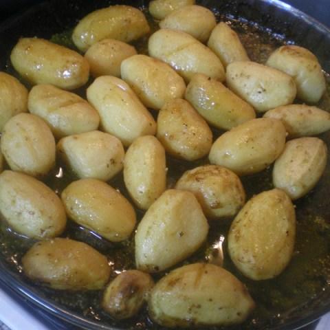 Πατάτες Λεμονάτες στο φούρνο ή στη Λαδόκολλα  -- CLONED