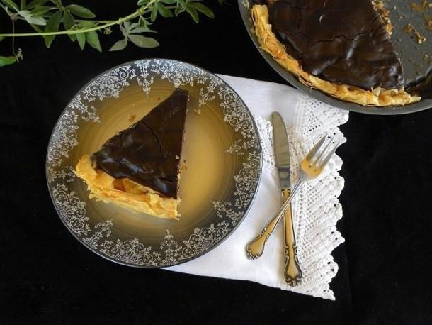 Chocolate Baklavas Tart image