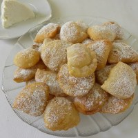 Bourekia me Freskia Anari - Pastries with Fresh Anari Cheese