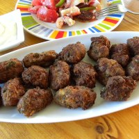 Greek Keftedes (Meat Balls)