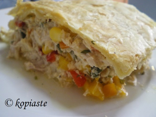 Kotopita with Puff Pastry