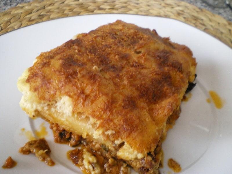Traditional Greek Moussakas