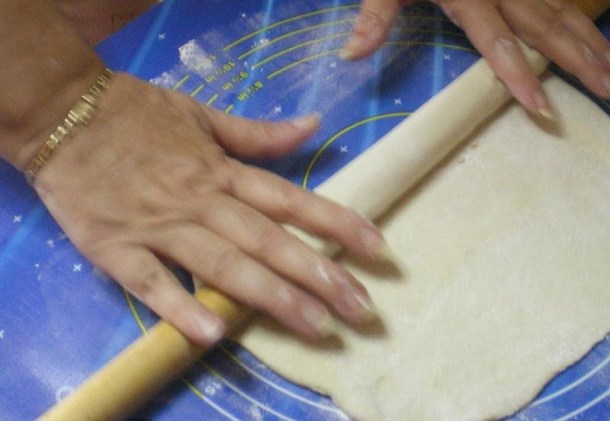 Rolling phyllo image