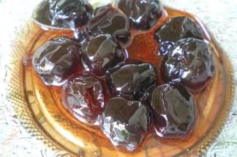 Sour cherries spoon sweet image