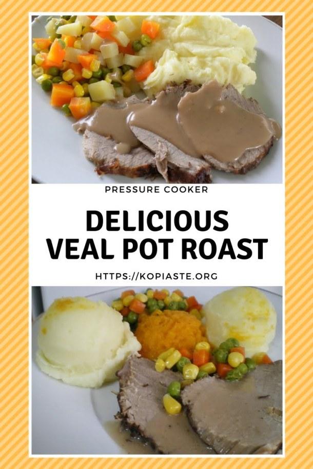 collage veal noua pot roast image