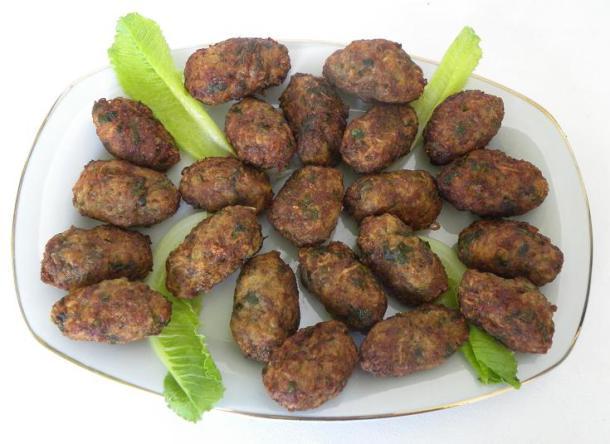 keftedes Cypriot meatballs image