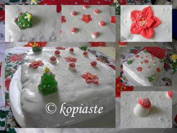 Collage Christmas Cake 2009 2