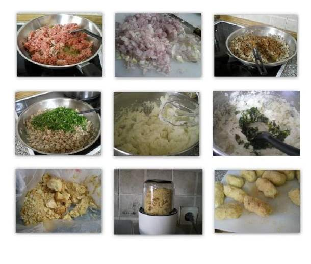 Collage croquettes image