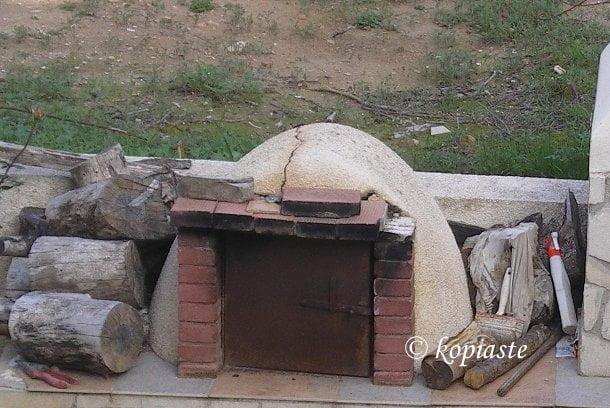 fournos village oven in Cyprus