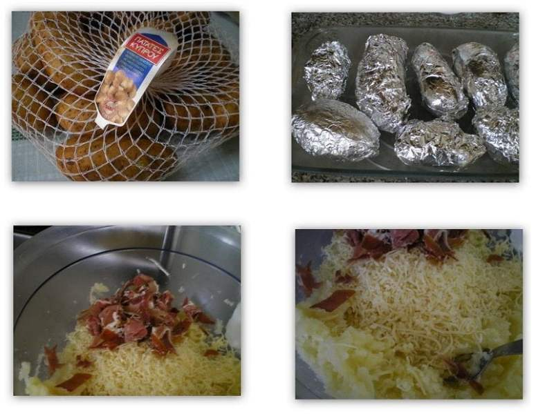 Collage Jacket potatoes