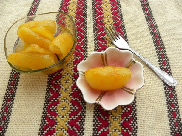 Bergamot fruit preserve image