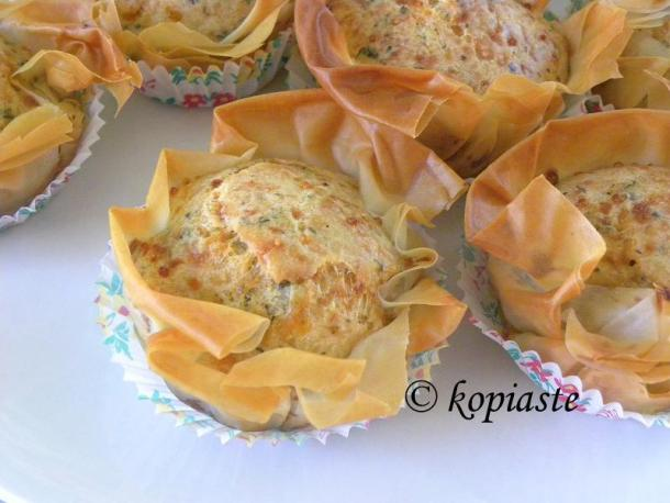 Halloumi Muffins with Phyllo image
