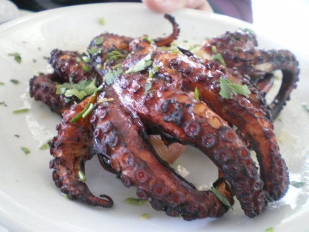 grilled octopus image