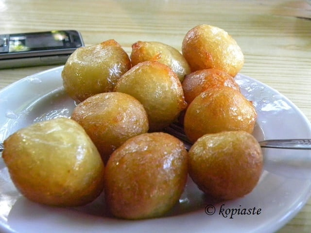 Cypriot Loukoumades or lokmades