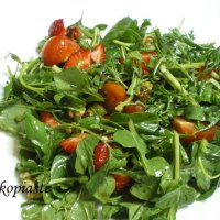 Rocket (arugula) and Watercress (kardamon) Salad