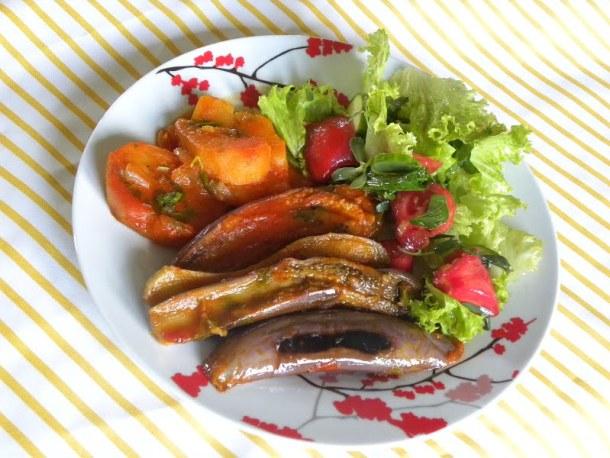 vazania eggplants with potatoes image