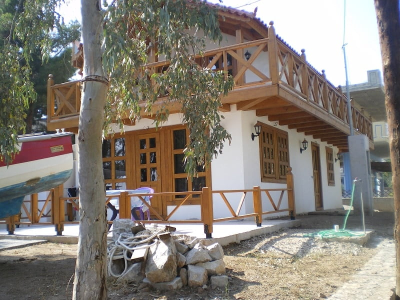 hotel at Saranti