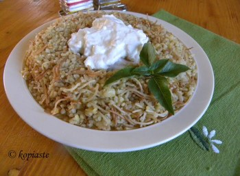 Pilafi Pourgouri Bulgur pilaf side dish image