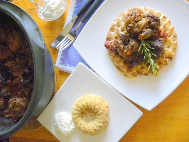 Lamb and eggplant casserole image