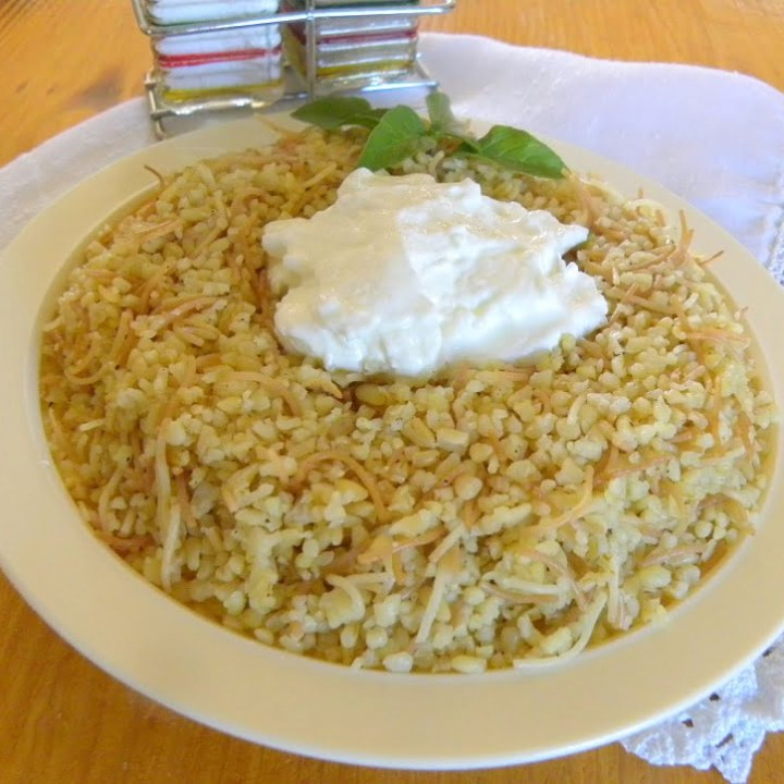Bulgur Wheat Pilaf (vegan recipe)