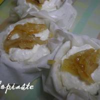 Glykia Tyropita Me Portokali (Orange Sweet Cream Cheese Pie)