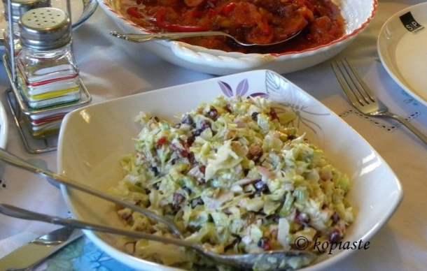 Lahanosalata Cabbage Salad image