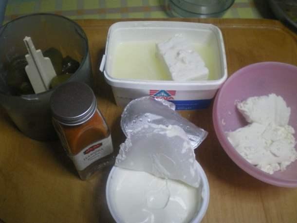 tyrokkafteri ingredients image