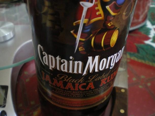 Captain Morgan's rum image