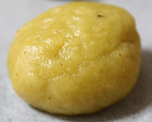 Oily melomakarona dough image