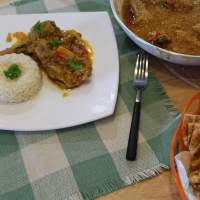 Greek-Style Indian Chicken Curry