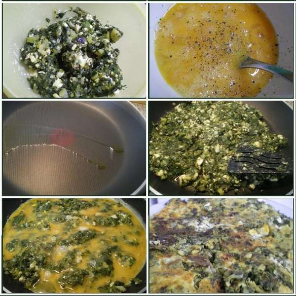 collage omelette