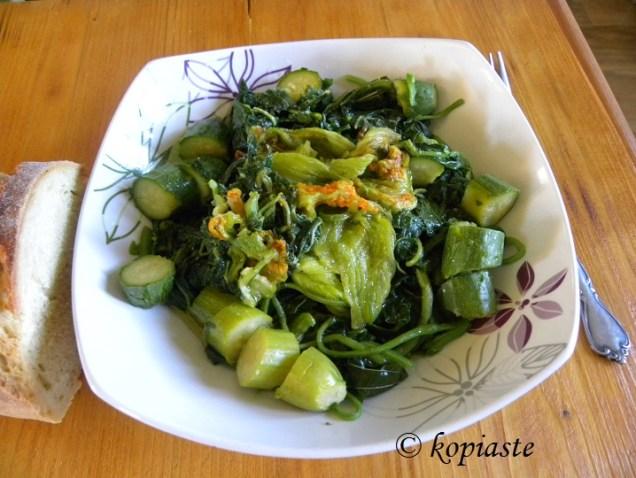 Vlita with zucchini