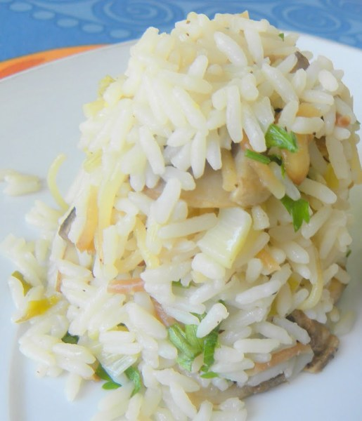 rice salad image