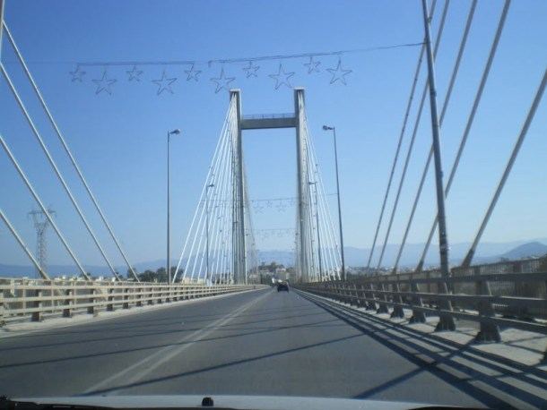 Evia Chalkida bridge image