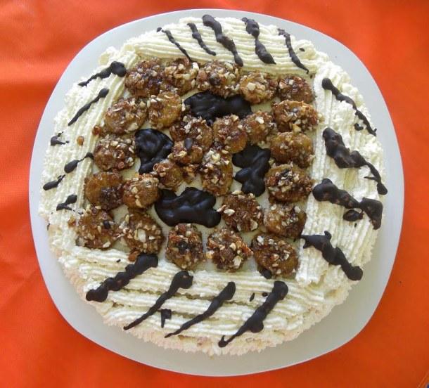 White chocolate cake image