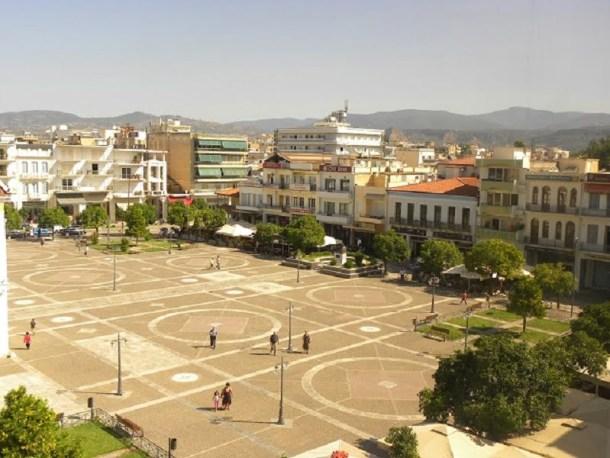 central square of sparti image