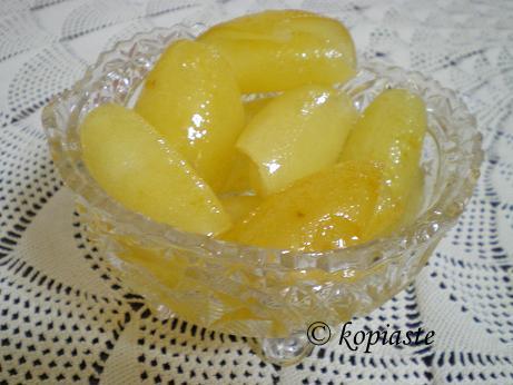 Glyko Bergamonto (Bergamot spoon sweet)