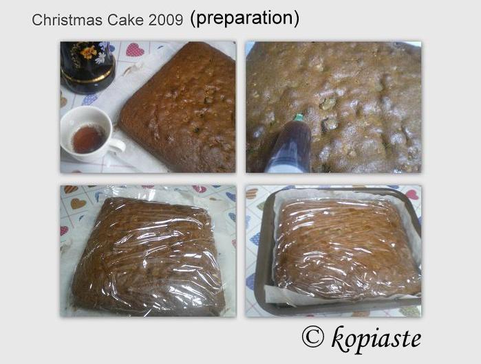 ollage Christmas Cake wetting cake