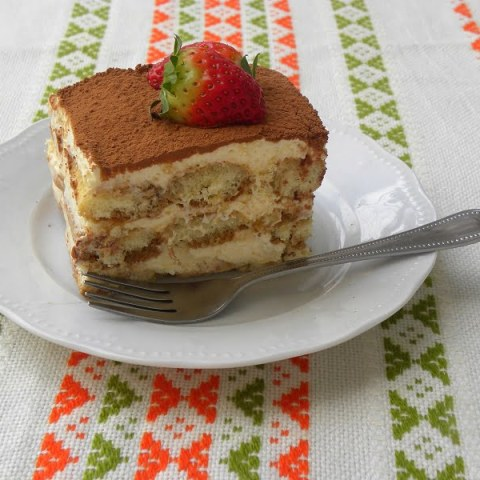 New Tiramisu with Pasteurized Eggs