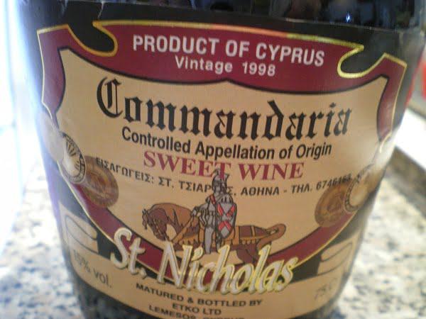 St. Nicholas commandaria image
