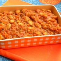 Gigantes Plaki sto Fourno (Baked Giant Beans)