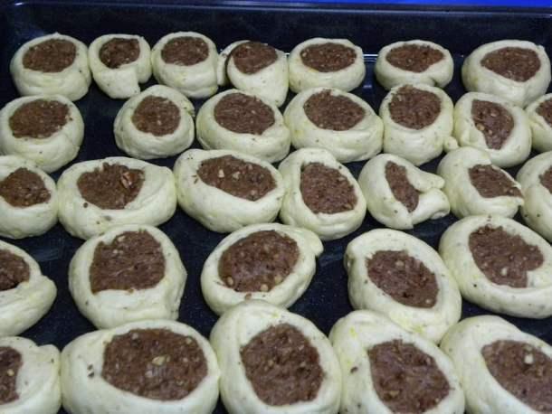 roxakia dough cookies before baking