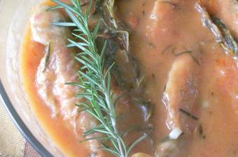 savoro fish in sauce image