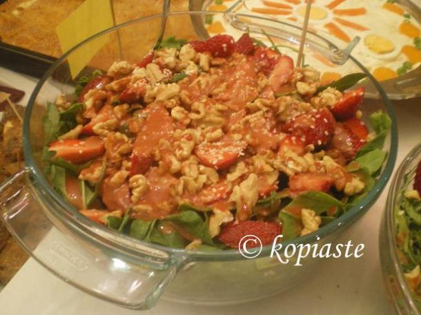 baby spinach salad image