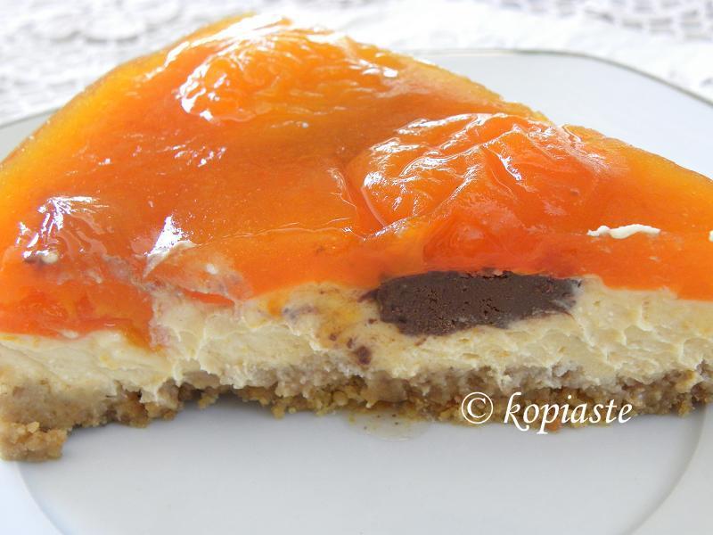Apricot cheesecake 2