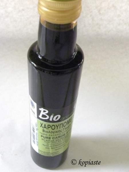 carob syrup teratsomelo